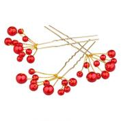 Sanwood Fashion Wedding Bridal Bridesmaid Pearls Hair Pins Clips Comb