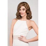 1940's Brown Pinup Style Wig, Wavy