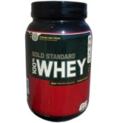 100% Whey Gold Standard Protein, Cookies & Cream - 908g by Optimum Nutrition