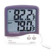 Sper Scientific 800015 Large Display Indoor/Outdoor Thermometer