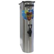 Wilbur Curtis Iced Tea Dispenser 13.2l Narrow Tea Dispenser, 60cm H - Designed to Preserve Flavour - TCN