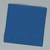 100 gorgeous Navy Blue beverage/cocktail napkins for wedding/party/event, 2ply, disposable, 13cm x 13cm , Made in USA