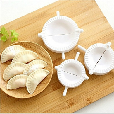 3pcs Press Ravioli Dough Pastry Pie Dumpling Maker Gyoza Empanada Mould Mould Tool