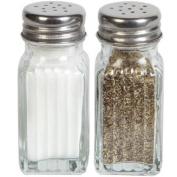 Glass Salt & Pepper Shaker Set