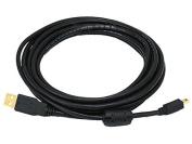 USB 2.0 Cable for Canon EOS 70D Digital SLR Camera -4.6m - w/Ferrite