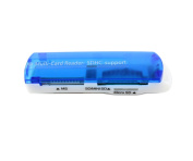 Multislot card reader, SANOXY all in one USB 2.0 MEMORY CARD READER FOR SD/MS Pro Duo/micro SD/M2/SDHC