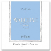 Warchal Brilliant 38cm - 41cm Viola C String - Silver Wound/Synthetic - Medium Gauge