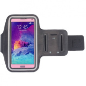 Bessky(TM) Galaxy Note 4 Case for Samsung Galaxy Note 4 New Sports Gym Armband Arm Band Case