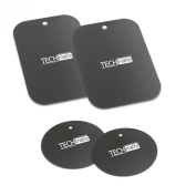 TechMatte® MagGrip Metal Plate Replacement Kit for Magnetic Universal Car Mount
