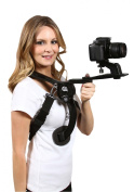 Cam Caddie Scorpion Ex Hands Free Shoulder Support Rig - Fits Virtually any Camera including Nikon DSLR, GoPro Hero 4/3/2, iPhone and More