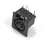 Generic Right Angle Female MIDI Connector 5-pin