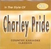 Charley Pride Country Karaoke Classics CDG