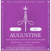 Augustine AUGREGALBLUSET Regal Blue High Tension Nylon Classical Guitar Strings