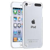 Insten® Clear Ultra Thin Slim Hard Snap-On Transparent Crystal Back Cover Skin Case for New iPod Touch 5th Generation 5G 5