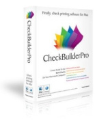 CheckBuilderPro - Cheque Printing Software for Macintosh