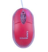 Urban Factory Krystal Mouse - Red