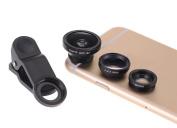 Unho Universal Clip 3 in 1 Phone Kit Lens