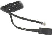 Plantronics Amplifier Coil Cord to QD Modular Plug, 26716-01 Consumer Portable Electronics/Gadgets