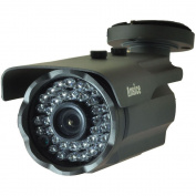Bullet Security CCTV Camera(black) Long Angle 12mm 1000TVL CMOS With IR-CUT Home Surveillance Outdoor IR Bullet Day Night Vision 36 Infrared LEDs waterproof