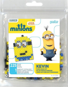 Perler Beads 80-52985 Minions Perler Kevin Activity Trial Size Kit, Yellow