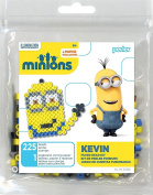 Perler Beads 80-52986 Minions Perler Kevin Activity Trial Size Kit, Yellow