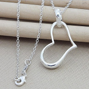 ATJC Amazing Jewellery 925 Silver Plated Bow Arrow Pendant Necklace Accessories Gift, P279