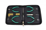7 Piece Jewellery Beading Tool Kit Pliers Beading Needle Tweezers Bead Craft Tool