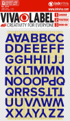 Iron on Letter Set 57 Characters Package
