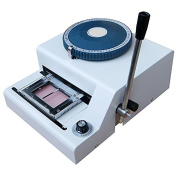 70 Character Pvc Card Embosser Stamping Machine Credit Id Vip Magnetic Embossing