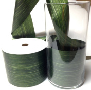 Aspid Ribbon Matte Moss Green. 10cm X 45 Yard