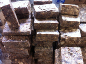 60ml Natural Pure Raw African Black Soap, Organic, Unrefined GHANA west Africa