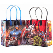 Marvel Avengers Premium Quality Party Favour Goodie Small Gift Bags 12