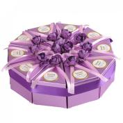 Voberry® European Creative Candy Box Triangle Cake Box Favour Candy Box