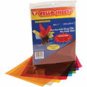 Hygloss Cello Sheets, 22cm by 28cm , 96-Pack