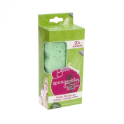 Spongeables 30 Plus Body Wash Infused Sponge with Verbena Green Tea Scent