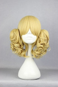 Weeck Anime Multicolor Long Lolita Wave Curly Ponytail Cosplay Wig