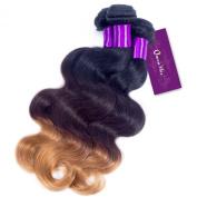Queen Star Hair Weave Hair Extension 14 16 46cm Brazilian Virgin Hair Body Wave Bundles More Thicker and Full Head 100% Unprocessed Hair Weft Grade 6a