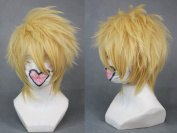 Weeck Anime Layered Blonde Short Amnesia Toma Fancy Cosplay Wig