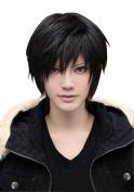 Weeck Short Black Orihara Izaya Durarara Fullmetal Alchemist Cosplay Wig