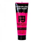 Paint Glow 250ml UV Blacklight Reactive Neon Body Splash Paint- Neon Pink