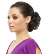 Fun Bun - Curly Ponytail Wrap Scrunchie by EasiHair Hairpieces,31F
