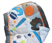 Baby Boy Sport Crib Bedding Set Quilt