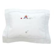 Boudoir Pillowcase - Teddy Bear Blue