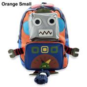 Fashion High Quality Robot Baby Child Toddler Infant Kid Keeper Nursery Safety Harness Cartoon Schoolbag Backpack Walker Walking Strap Rein Belt Leash Bag Carrier Sling