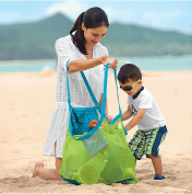 Mesh Beach Tote Bag - Good for the Beach Family Children Play