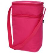 JL Childress 6 Bottle Cooler Bag, Pink