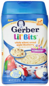Gerber Lil Bits Whole Wheat Apple Blueberry Cereal, 240ml