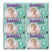 Bambo Nature Premium Eco-Friendly Nappies, 2 Mini 1 ea