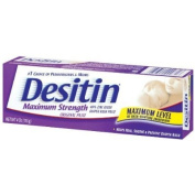 Desitin Maximum Strength Paste (Pack of 2) Nappy Rash Ointment Baby Infant Maximum Level Heal Skin
