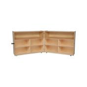 WD13732 Folding Versatile Storage Unit, 100cm H, X-Deep 46cm